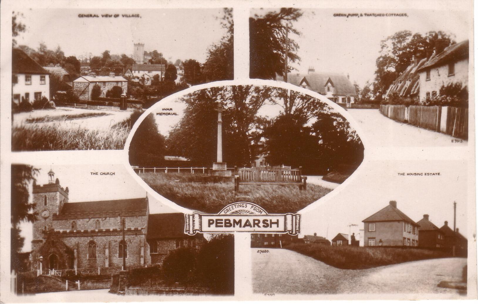 Pebmarsh-Postcard